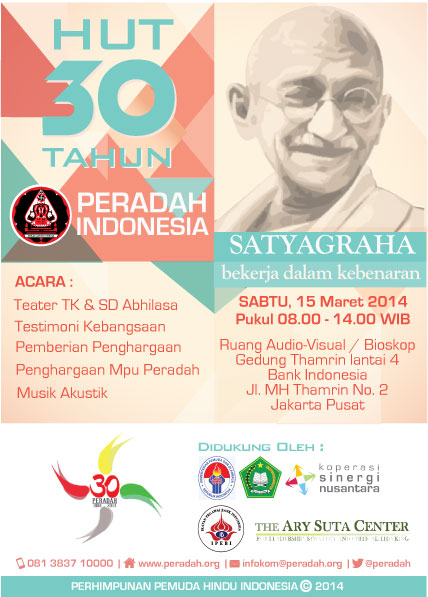 30th Peradah Indonesia